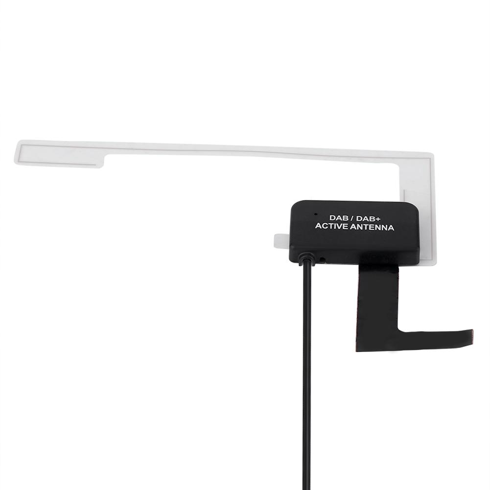 dab digital autoradio aktive antenne empf nger antenne. Black Bedroom Furniture Sets. Home Design Ideas