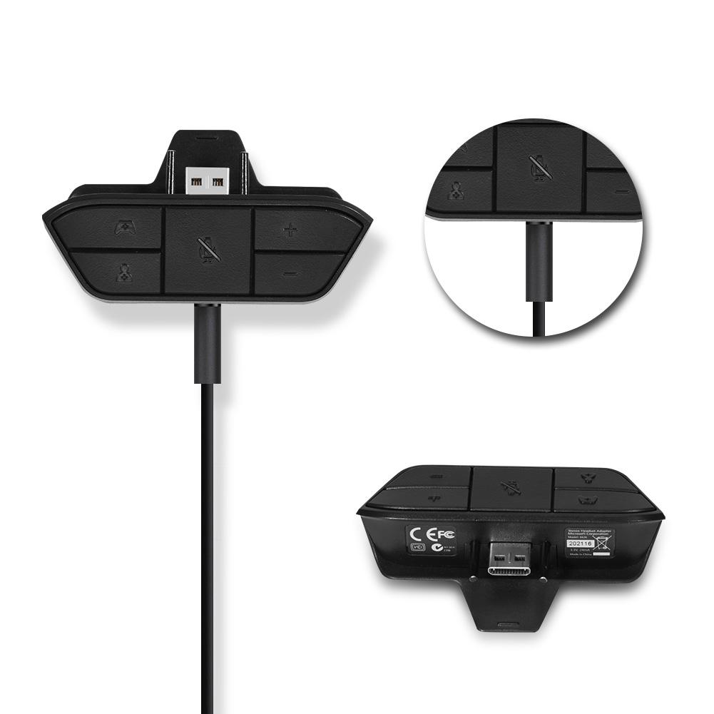 Estereo-Auriculares-Audio-Game-Adaptador-para-Microsoft-Xbox-One-Controlador