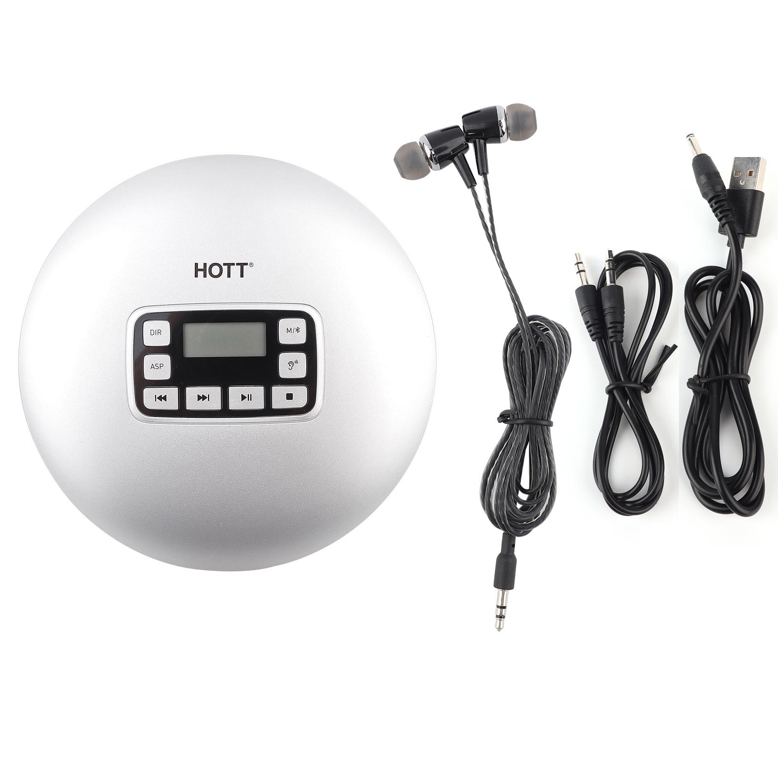 hott hifi mini tragbar cd musik spieler mit led display. Black Bedroom Furniture Sets. Home Design Ideas