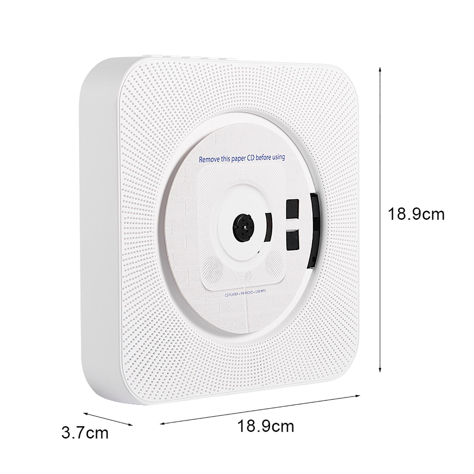 Portatile bluetooth stereo cd mp3 lettore da parete telecomando per psp phone pc ebay - Lettore cd da parete ...