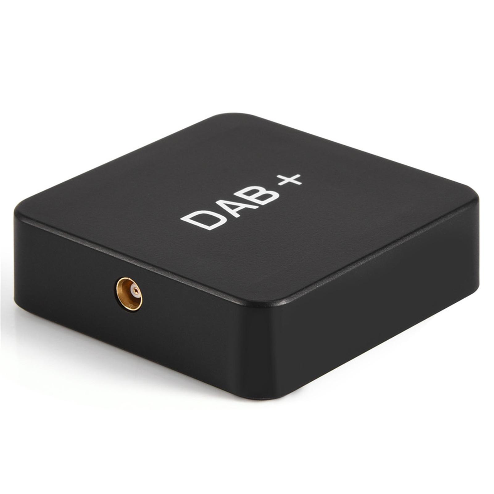 universal auto dab box digital radio empf nger adapter. Black Bedroom Furniture Sets. Home Design Ideas