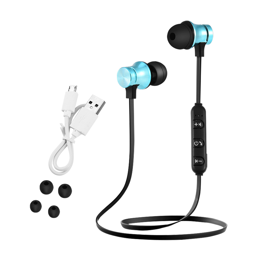 bluetooth magnetisch kopfh rer headset stereo mit mikrofon. Black Bedroom Furniture Sets. Home Design Ideas