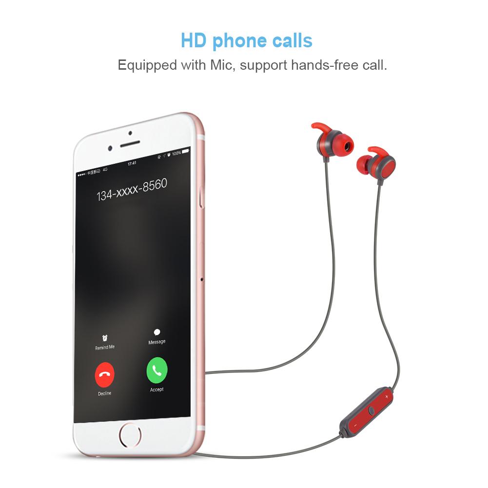 Auricolari cuffie microfono senza fili sport bluetooth earphone per smartphone ebay - Cuffie per sport ...