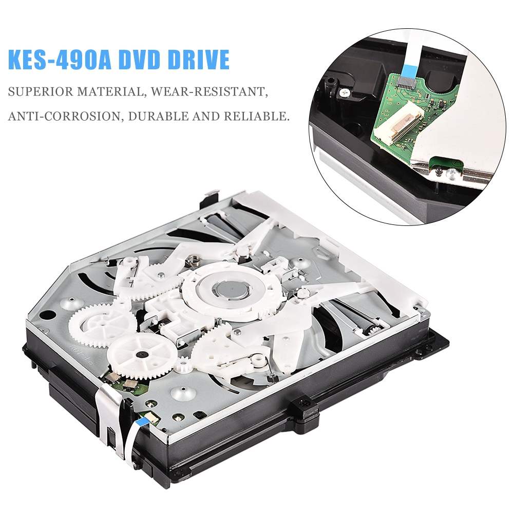 DVD Replace Drive for PlayStation 4 PS4 KEM-490AAA KES-490A 490 490A Laser Lens