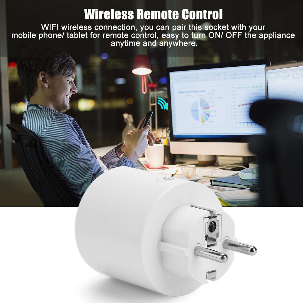 WiFi Wireless Schalter Fernbedienung Intelligente Power Steckdose EU ...