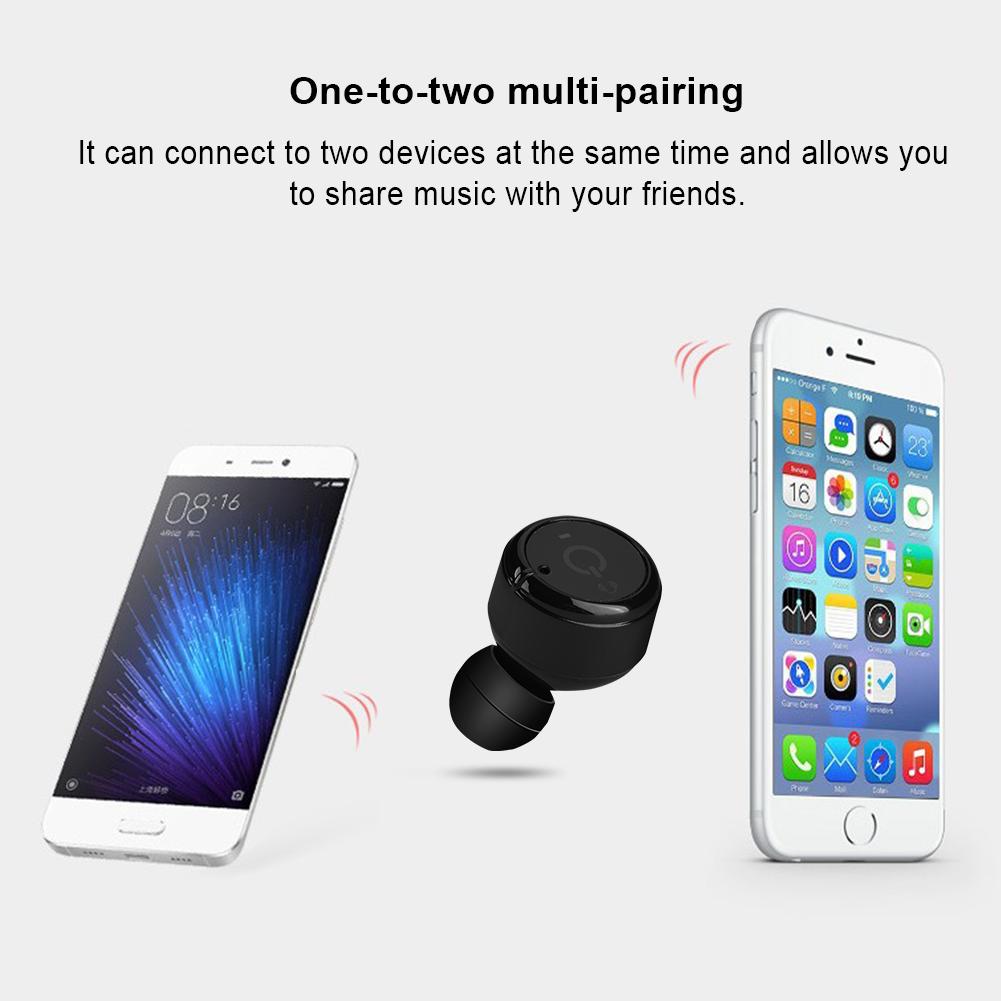 X2T Mini TWS Wireless Earphones Twins Stereo In-Ear Earbud Bluetooth Headset LOT