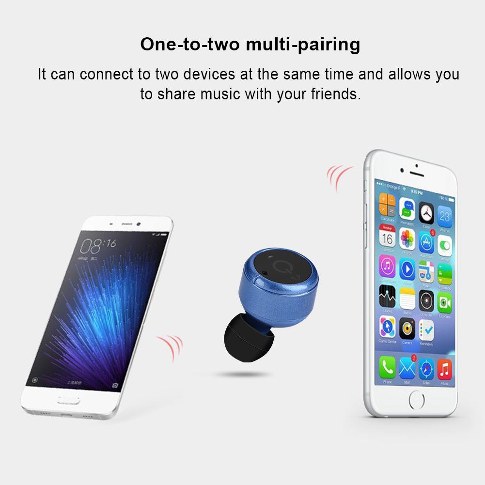 X2T Mini TWS Wireless Earphones Twins Stereo In-Ear Earbud