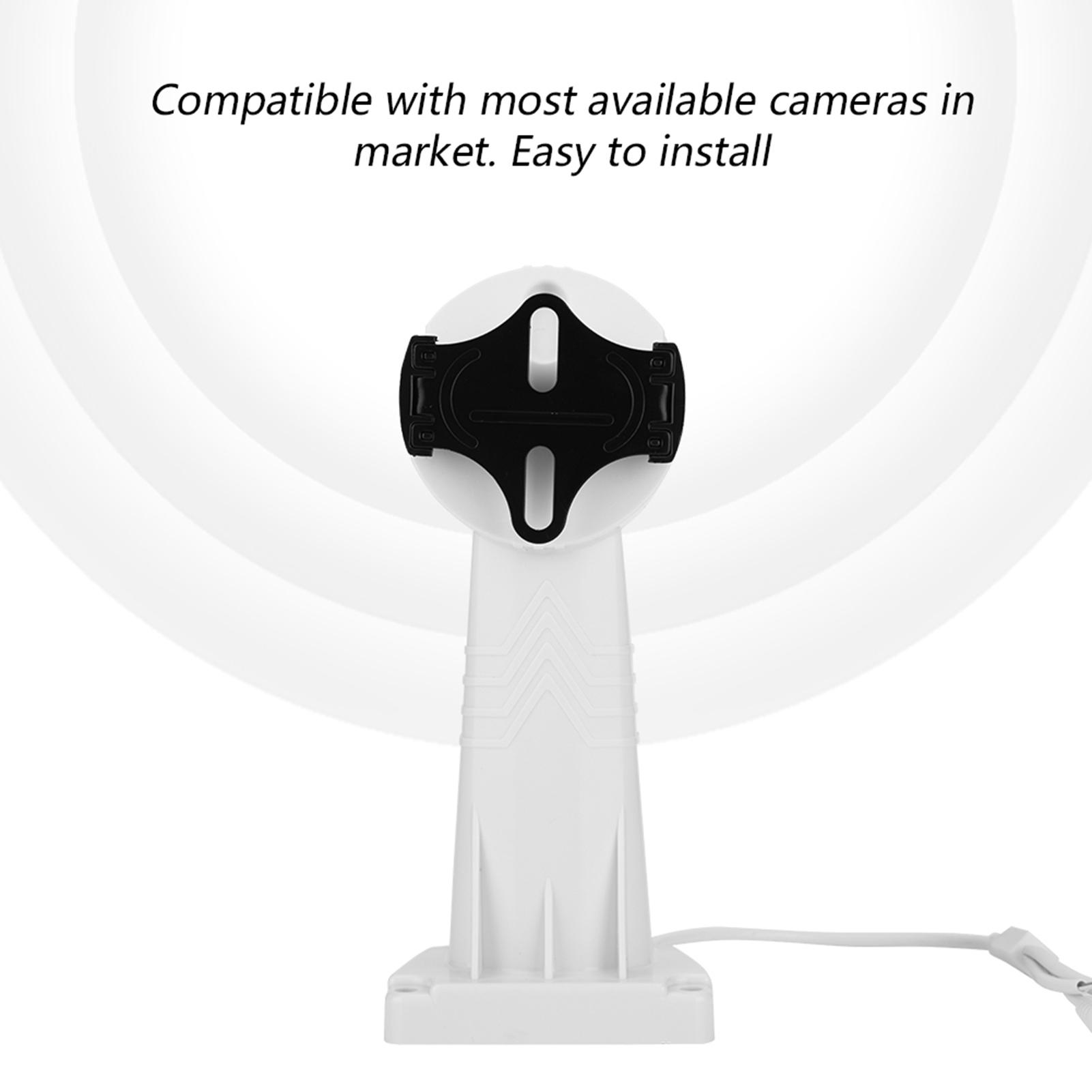 CCTV-Cameras-Rotate-Pan-Tilt-PTZ-Bracket-Electrical-Mount-Stand-Support-RS485-ZZ miniature 15