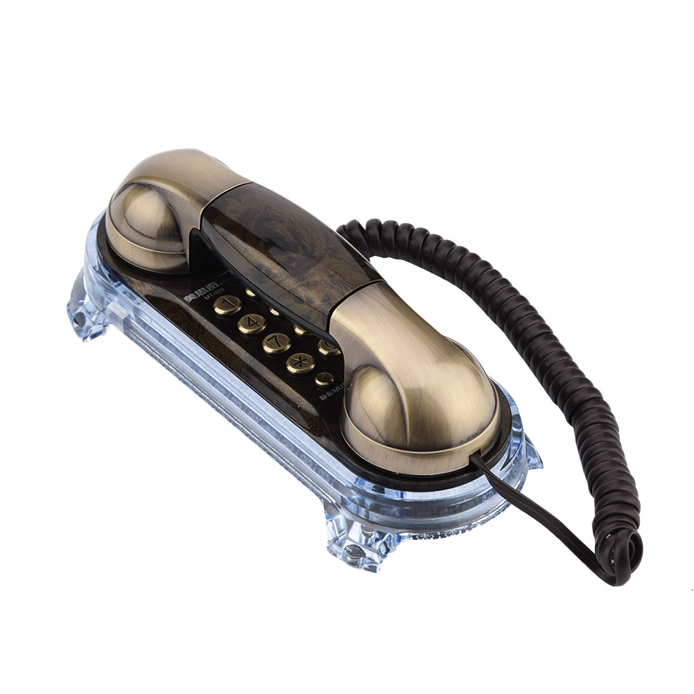 Antique-Retro-Wall-Mounted-Telephone-Home-Office-Business-Caller-ID-Corded-Phone