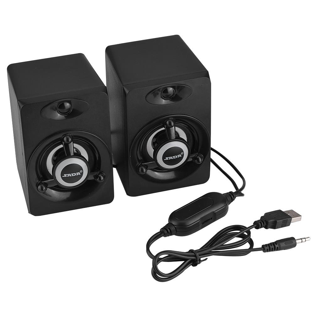 SADA-Bluetooth-Computer-Speaker-Desktop-Laptop-PC-Stereo-Subwoofer-Multimedia thumbnail 32