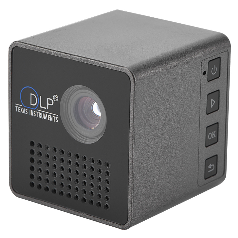 Mini DLP LED Smart Projector 4K 3D Android 6.0 Wifi 1080P