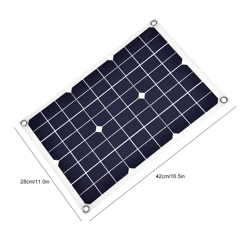10W-5V-USB-Solar-Panel-Module-Portable-USB-Battery-Cell-Phone-Charger-Waterproof