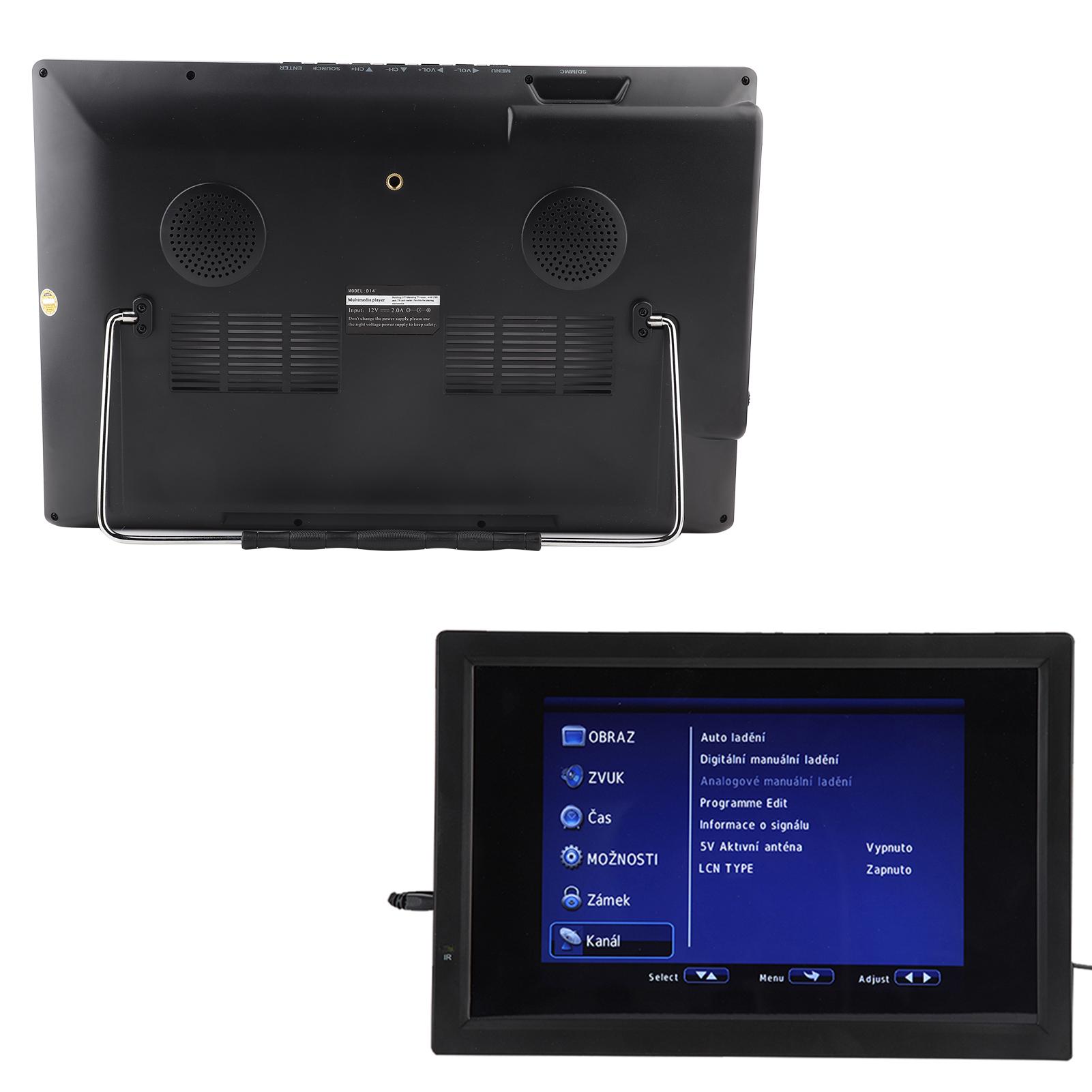 Freeview-1080P-HDMI-HD-14-039-039-Portable-TV-Digital-Television-Player-PVR-USB-DC-AC thumbnail 13