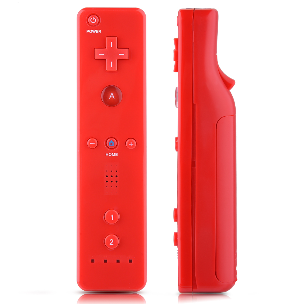 Built-in-Motion-Plus-Remote-Nunchuck-Controller-Cover-Case-for-Nintendo-Wii-WiiU miniature 29