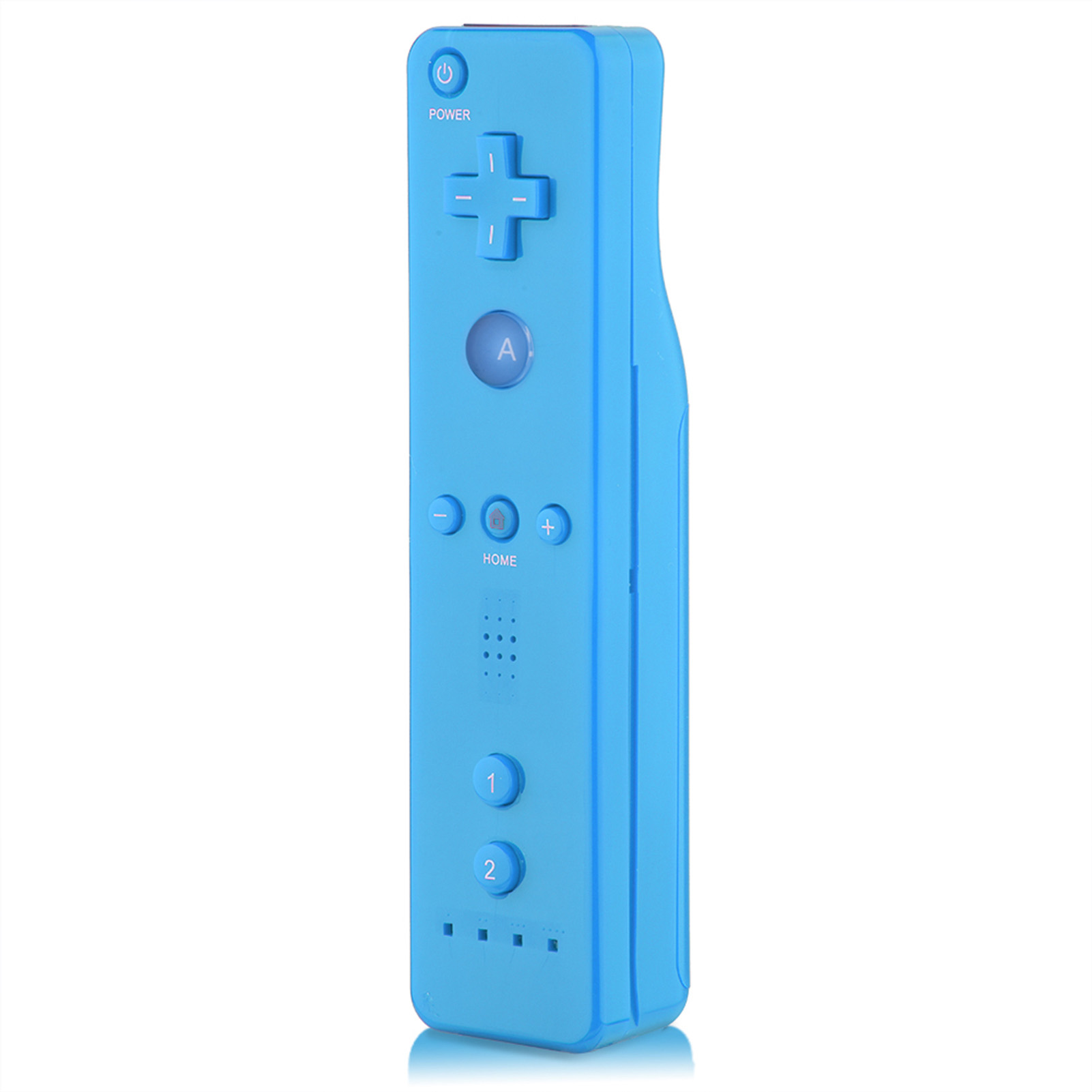 Built-in-Motion-Plus-Remote-Nunchuck-Controller-Cover-Case-for-Nintendo-Wii-WiiU miniature 34