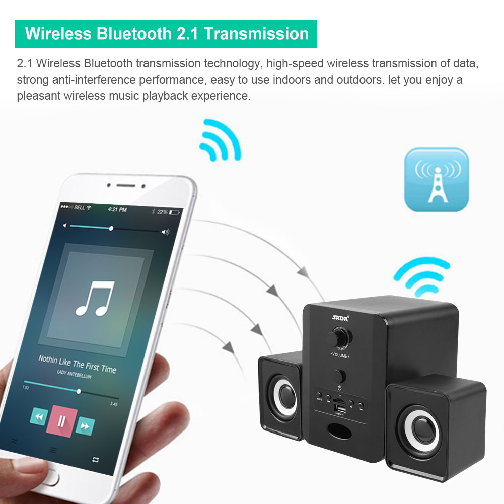 Mini-SADA-Computer-Speakers-2-1-USB-Bluetooth-Subwoofer-for-Desktop-PC-Laptop thumbnail 40