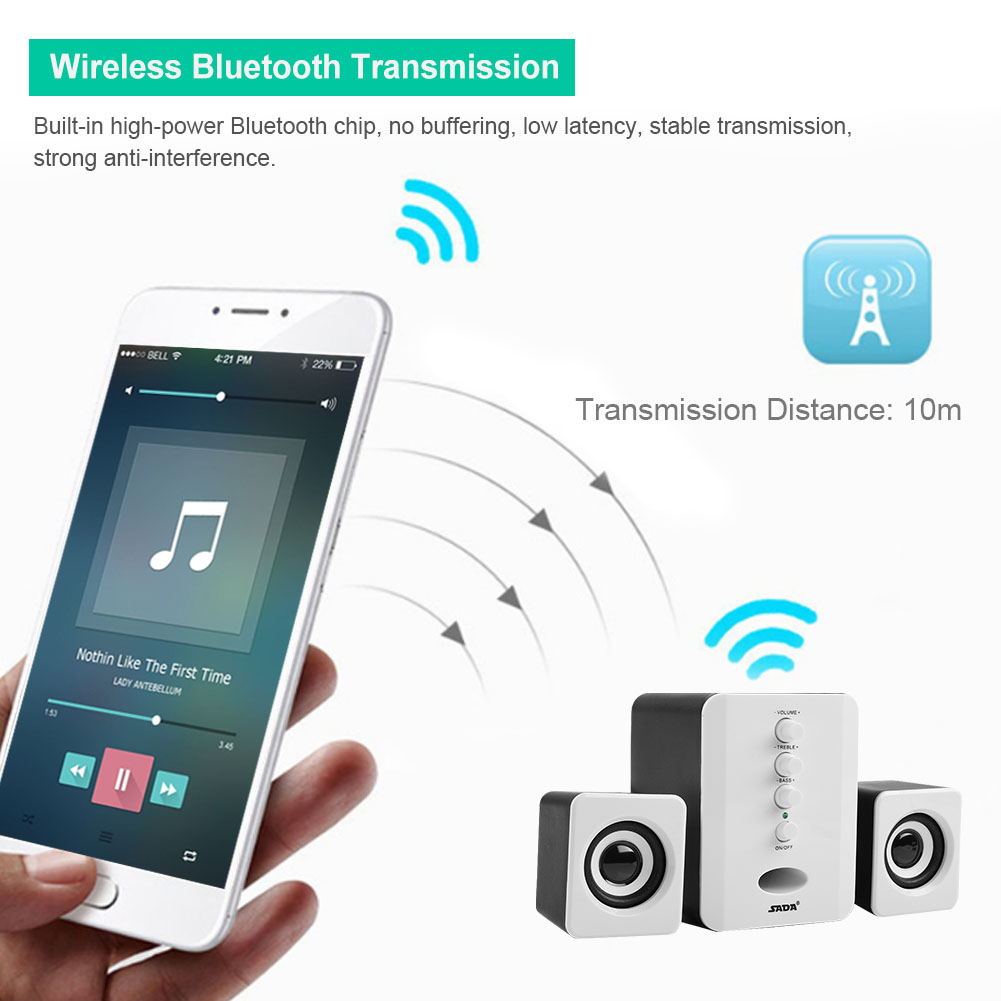 Mini-SADA-Computer-Speakers-2-1-USB-Bluetooth-Subwoofer-for-Desktop-PC-Laptop thumbnail 50