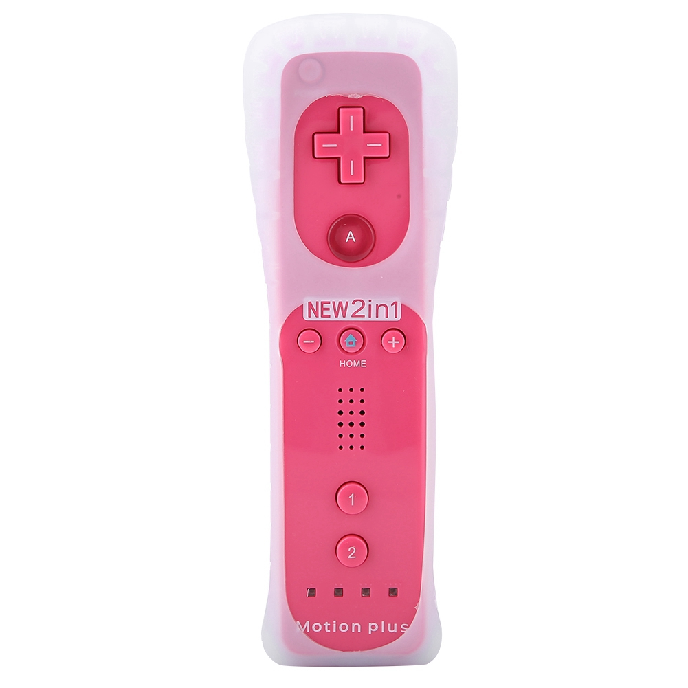 Built-in-Motion-Plus-Remote-Nunchuck-Controller-Cover-Case-for-Nintendo-Wii-WiiU miniature 90