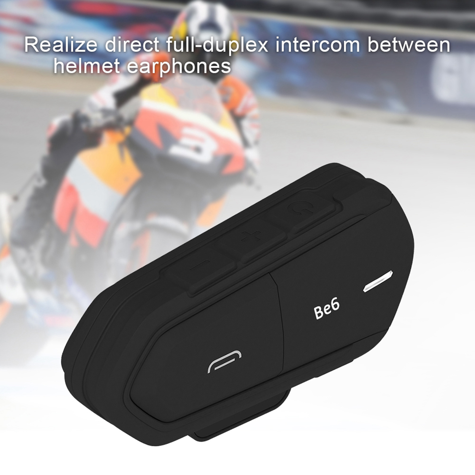 Wireless-Bluetooth-Helmet-Interphone-Earphone-Long-Distance-FM-Helmet-Headset miniature 13