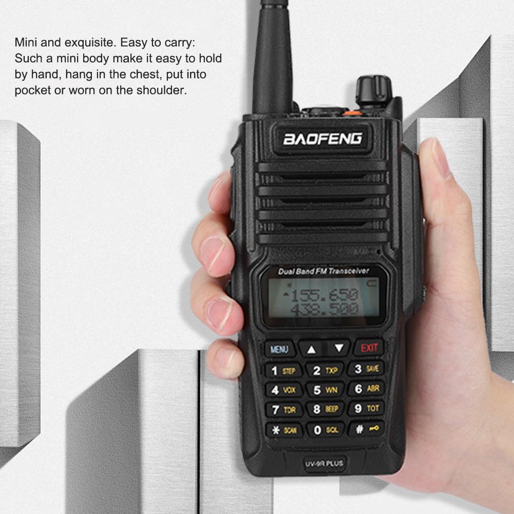 UHF-VHF-Dual-Band-Walkie-Talkie-Intercom-Radio-for-Baofeng-UV-82-UV9R-UV9R-Plus thumbnail 26