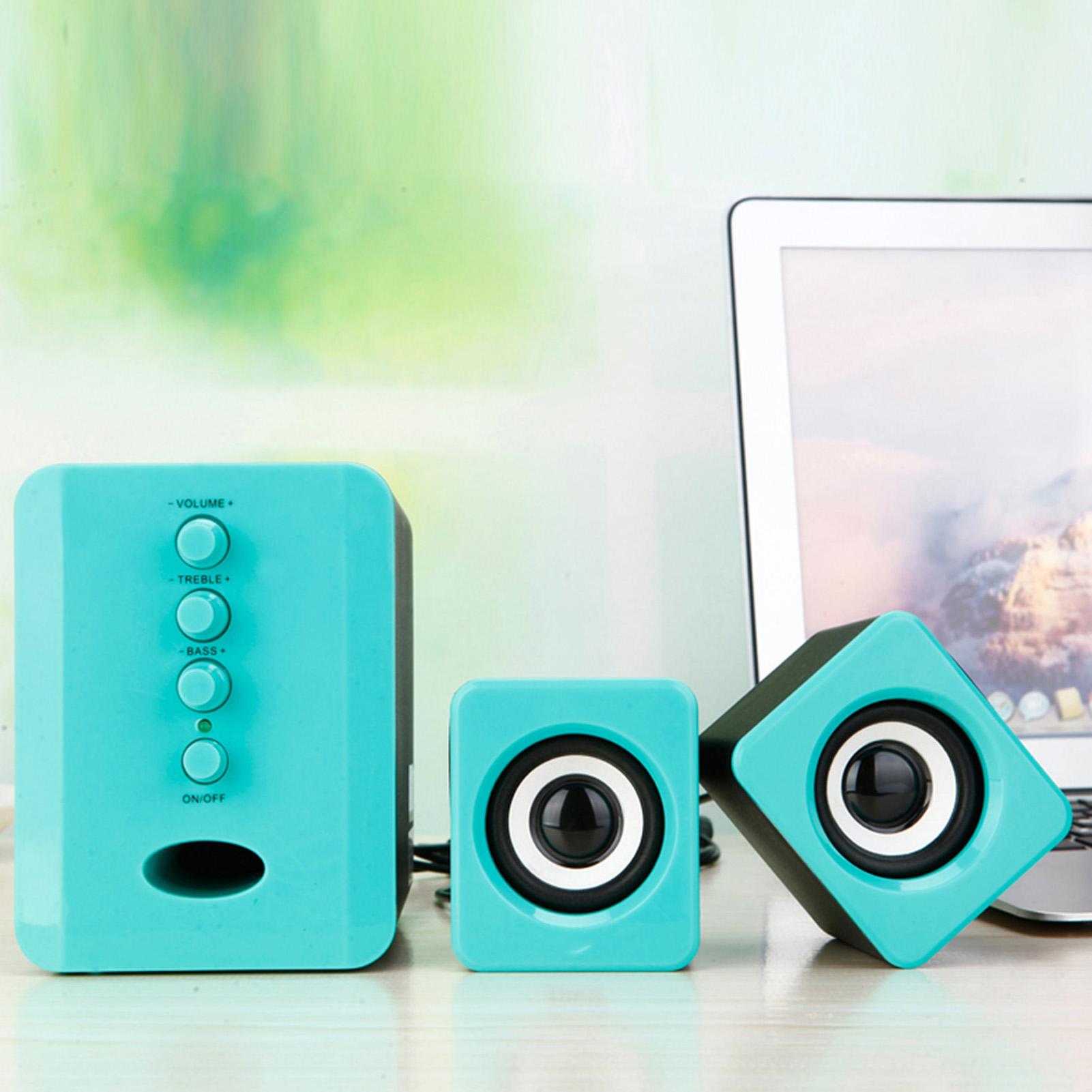 SADA-Bluetooth-Computer-Speaker-Desktop-Laptop-PC-Stereo-Subwoofer-Multimedia thumbnail 82