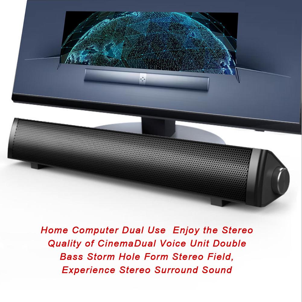 SADA-Bluetooth-Computer-Speaker-Desktop-Laptop-PC-Stereo-Subwoofer-Multimedia thumbnail 43