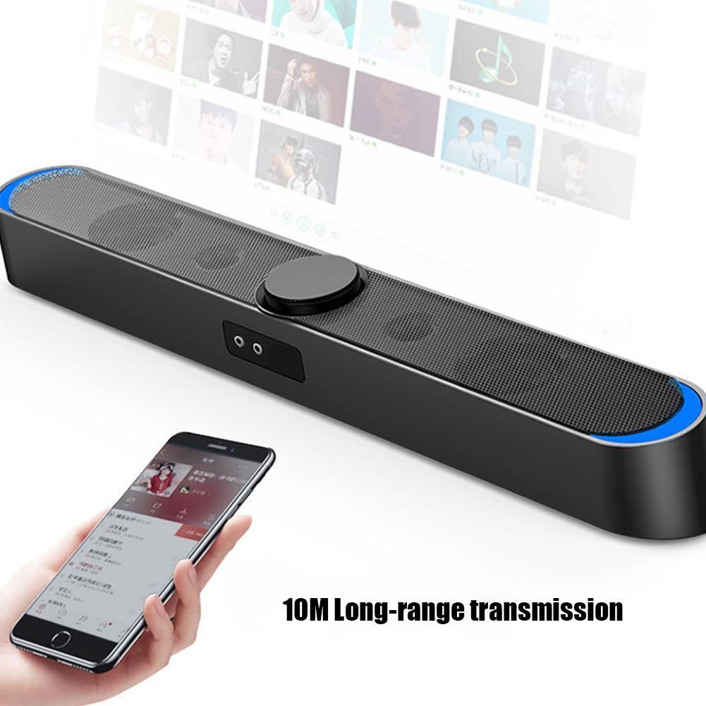 SADA-Bluetooth-Computer-Speaker-Desktop-Laptop-PC-Stereo-Subwoofer-Multimedia thumbnail 16