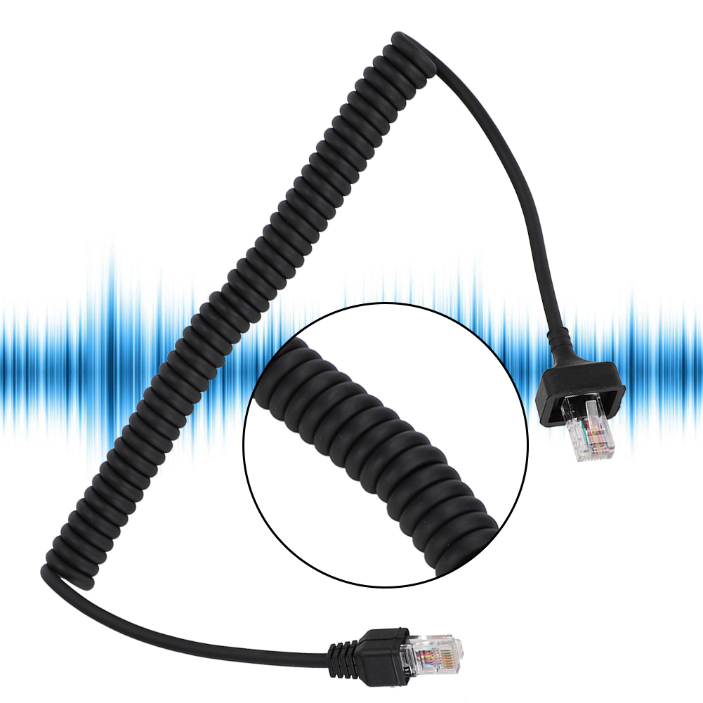 Microphone-Cable-Cord-8Pin-Compatible-w-Kenwood-TM-331A-TM-431A-TM-531A-TM-241A thumbnail 37