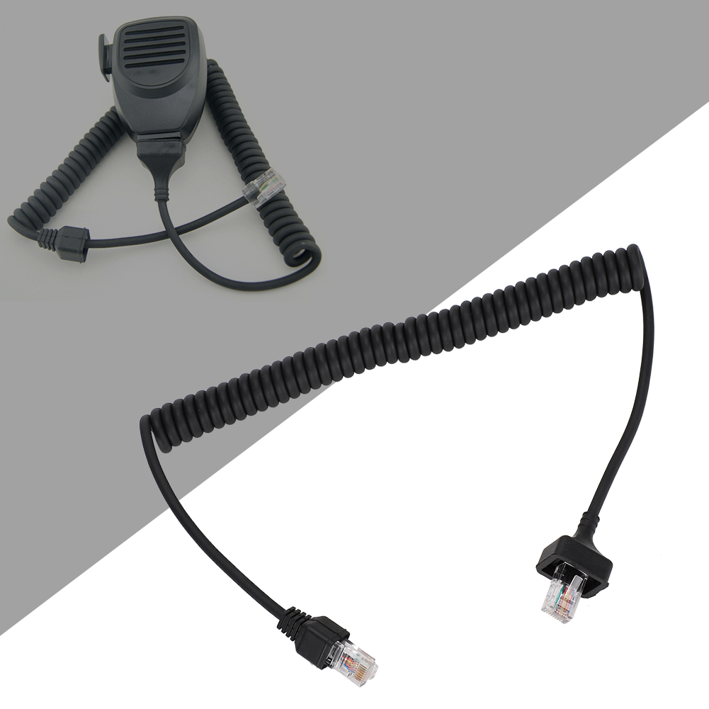 Microphone-Cable-Cord-8Pin-Compatible-w-Kenwood-TM-331A-TM-431A-TM-531A-TM-241A thumbnail 44
