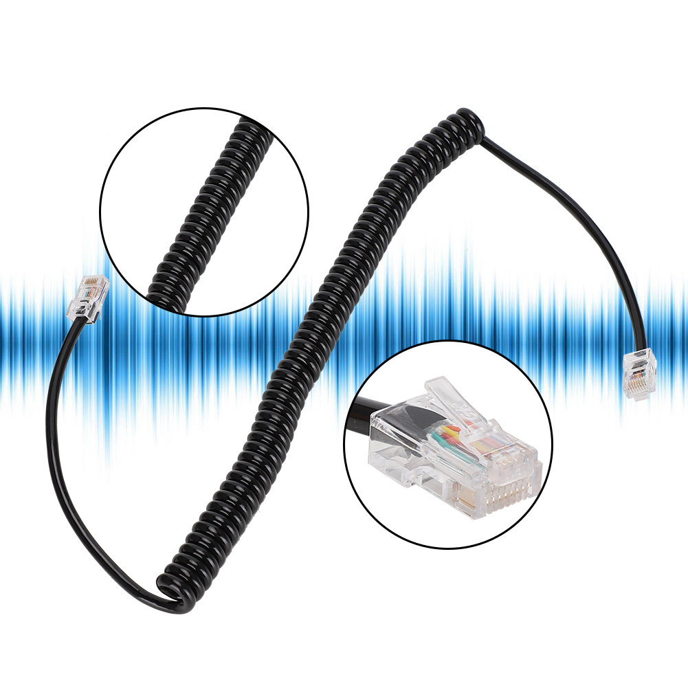 Microphone-Cable-Cord-8Pin-Compatible-w-Kenwood-TM-331A-TM-431A-TM-531A-TM-241A thumbnail 26
