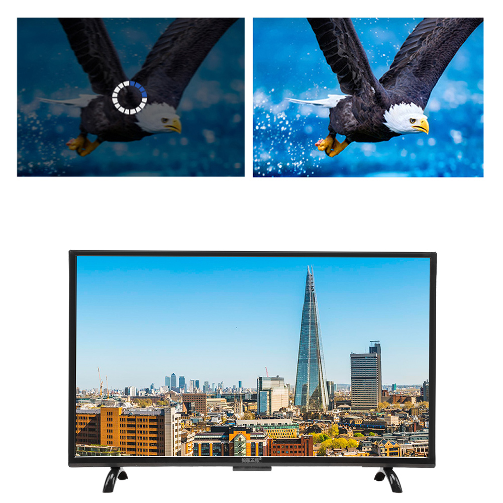 32-034-43-034-55-034-4K-HDR-Smart-TV-1080P-HD-WiFi-USB-HDMI-3000R-Television-for-Android miniature 18