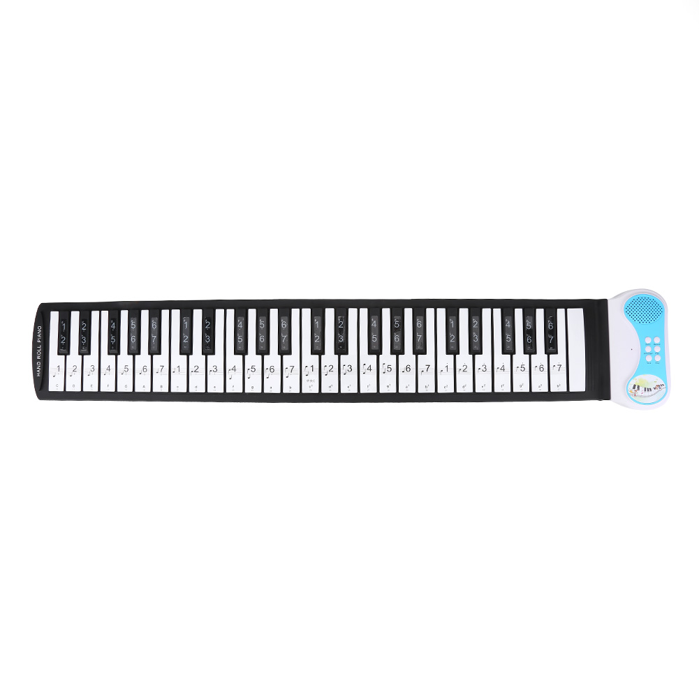 Removable 88-Key Electronic Keyboard Piano Key Stickers Note Labels