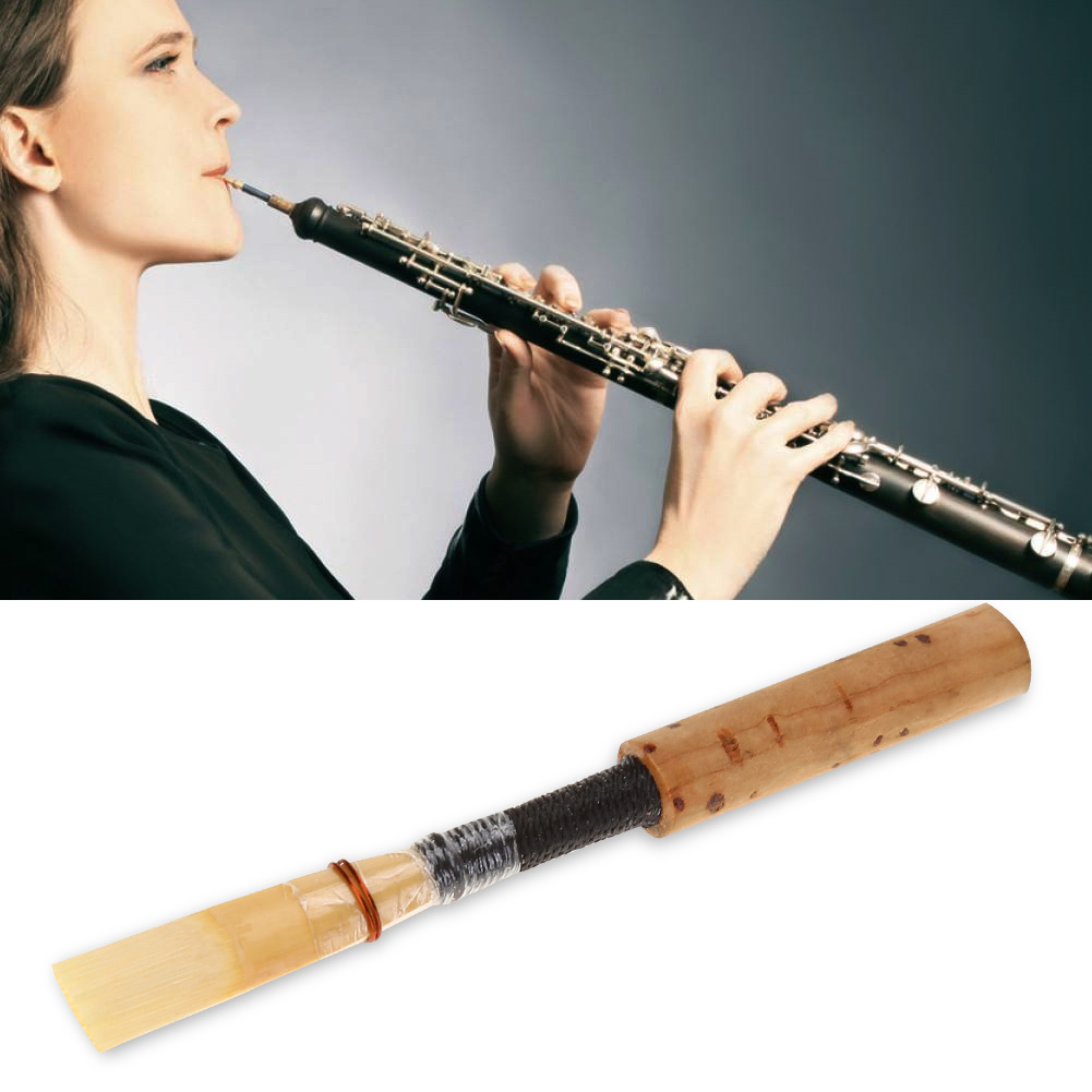 Good-Quality-Oboe-Reed-Wind-Instrument-Replacement-Parts-with-Transparent-Tube