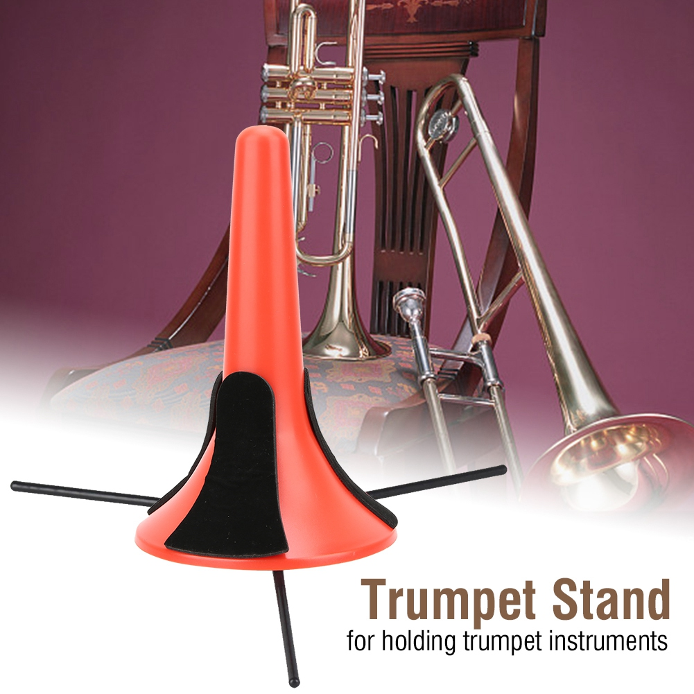 Portable-Trumpet-Tripod-Stand-Holder-Support-ABS-Material-
