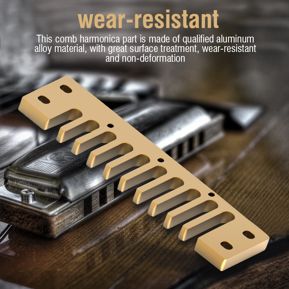Metal-Comb-Harmonica-Parts-Harmonica-Accessory-for-Hohner-Marine-Band-Crossover thumbnail 10