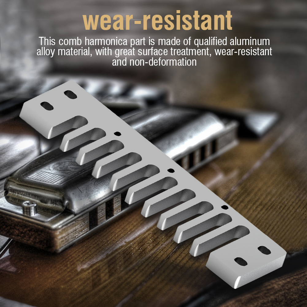 Metal-Comb-Harmonica-Parts-Harmonica-Accessory-for-Hohner-Marine-Band-Crossover thumbnail 15