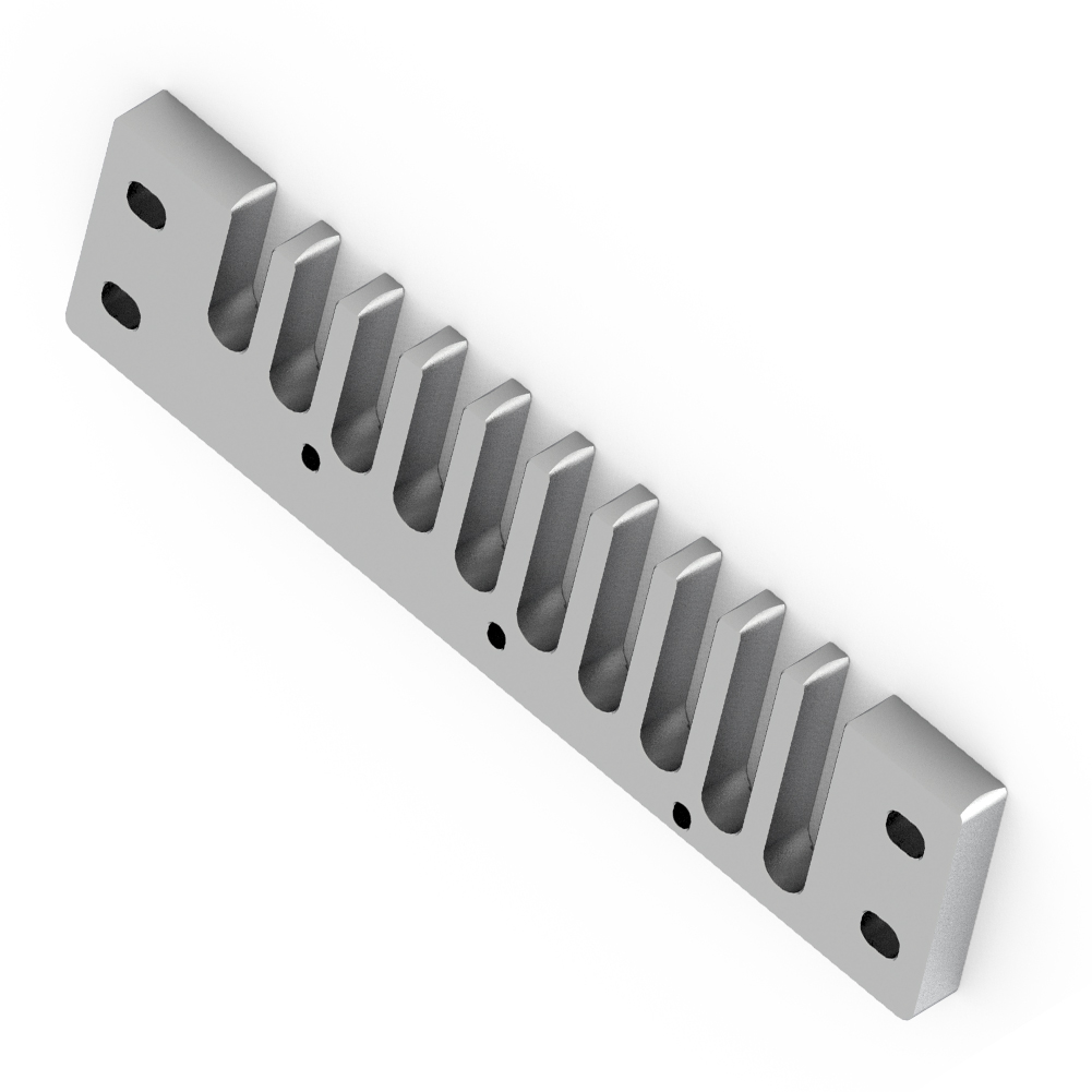 Aluminum-Alloy-Solid-Comb-Harmonica-Part-for-Hohner-Marine-Band-Crossover-Deluxe thumbnail 22