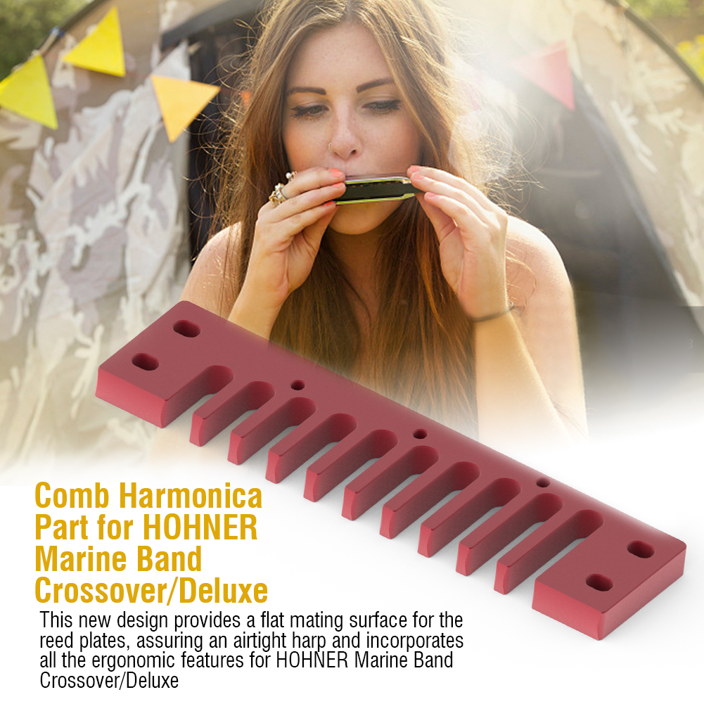 Metal-Comb-Harmonica-Parts-Harmonica-Accessory-for-Hohner-Marine-Band-Crossover thumbnail 21