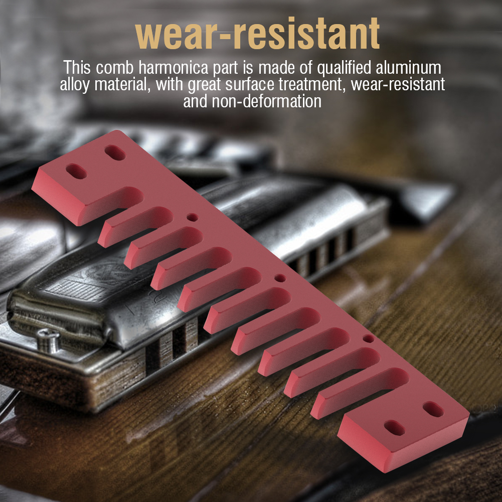 Metal-Comb-Harmonica-Parts-Harmonica-Accessory-for-Hohner-Marine-Band-Crossover thumbnail 22
