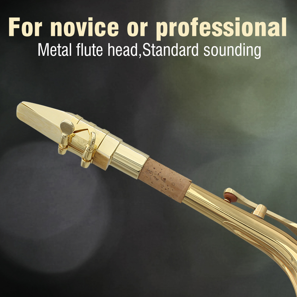 Jazz-Alto-Sax-Saxophone-Mouthpiece-Metal-with-Mouthpiece-Cap-amp-Pads-Professional thumbnail 15
