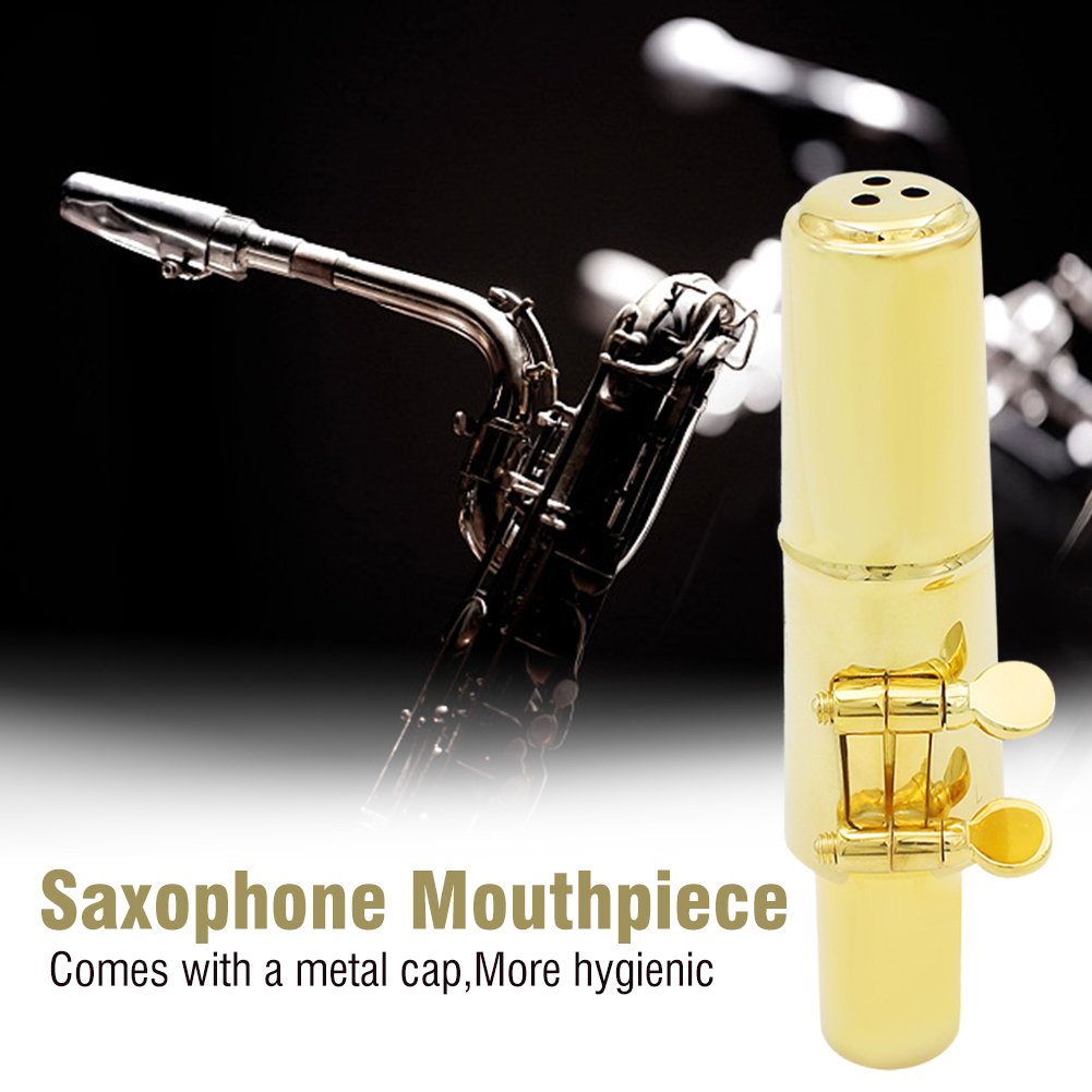 Jazz-Alto-Sax-Saxophone-Mouthpiece-Metal-with-Mouthpiece-Cap-amp-Pads-Professional thumbnail 20