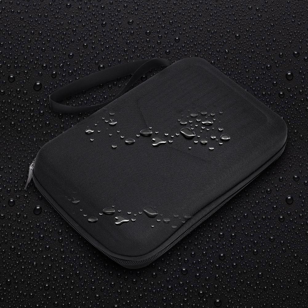 10-17-Key-Kalimba-Case-Water-resistant-Thumb-Piano-Mbira-Case-Bag-Black-Portable miniature 10