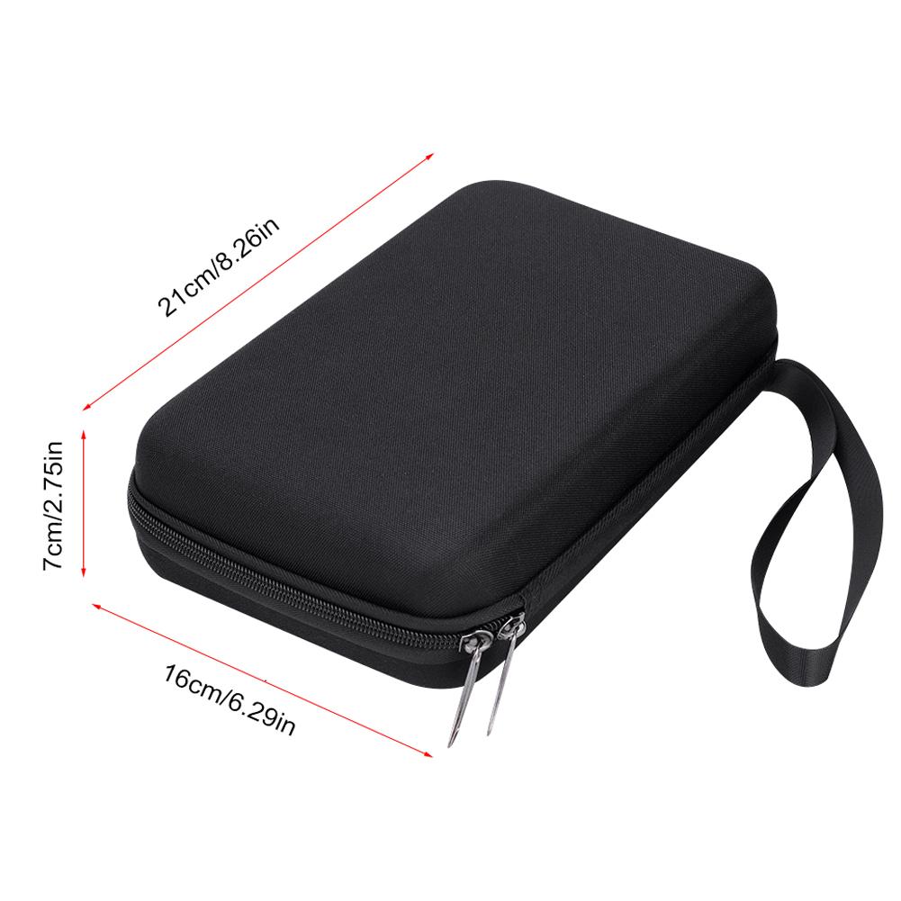 10-17-Key-Kalimba-Case-Water-resistant-Thumb-Piano-Mbira-Case-Bag-Black-Portable miniature 11