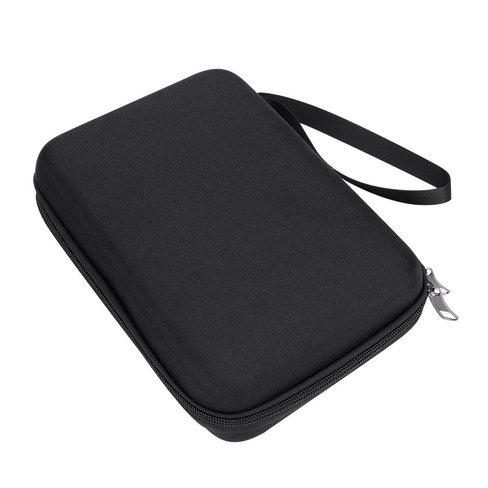 10-17-Key-Kalimba-Case-Water-resistant-Thumb-Piano-Mbira-Case-Bag-Black-Portable miniature 4
