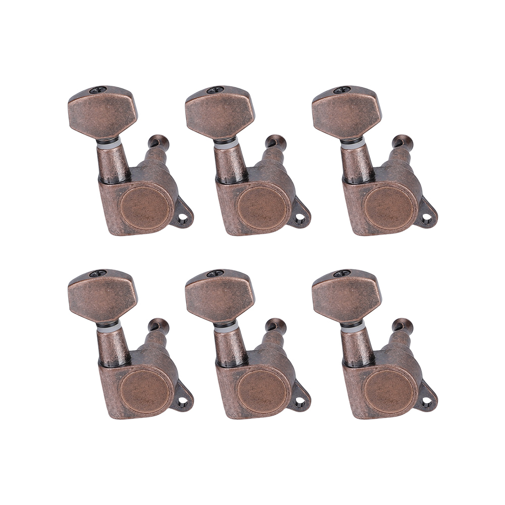6pcs-6R-Guitar-Tuning-Pegs-Set-Tuners-Keys-Machine-Heads-Electric-Guitar-Parts thumbnail 4