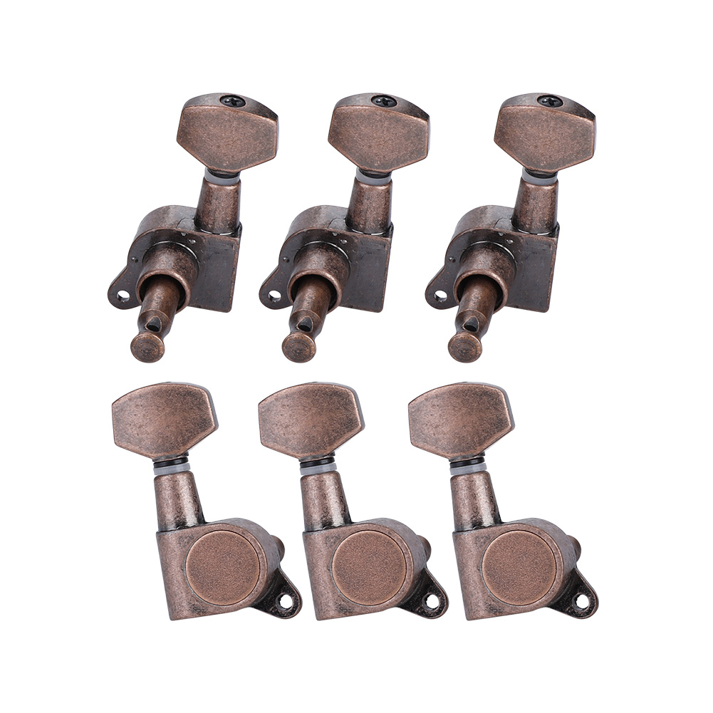 6pcs-6R-Guitar-Tuning-Pegs-Set-Tuners-Keys-Machine-Heads-Electric-Guitar-Parts thumbnail 5