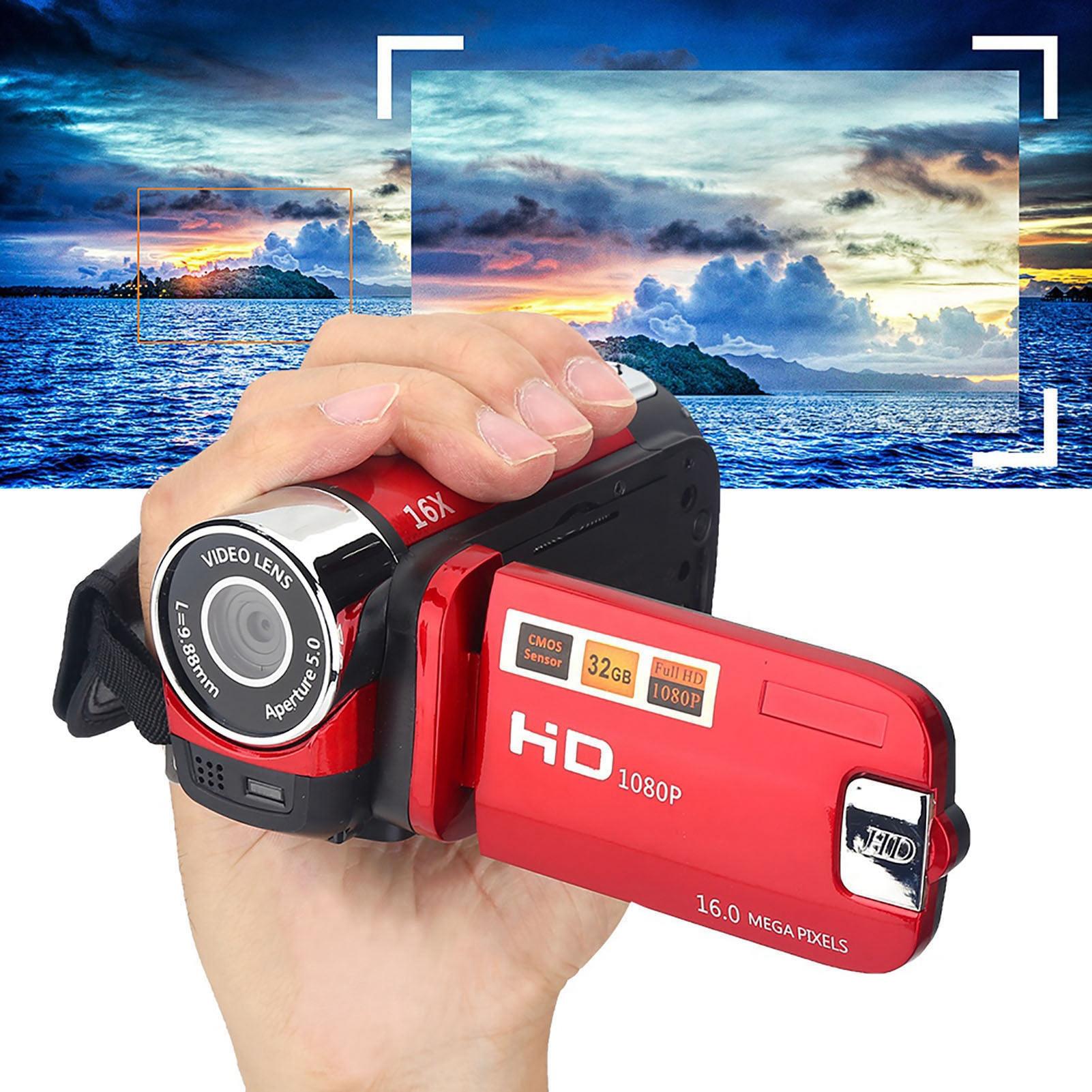 1080P-Camcorder-Digital-Video-Camera-TFT-LCD-Sceen-24MP-16x-DV-AV-Night-Vision-F thumbnail 43