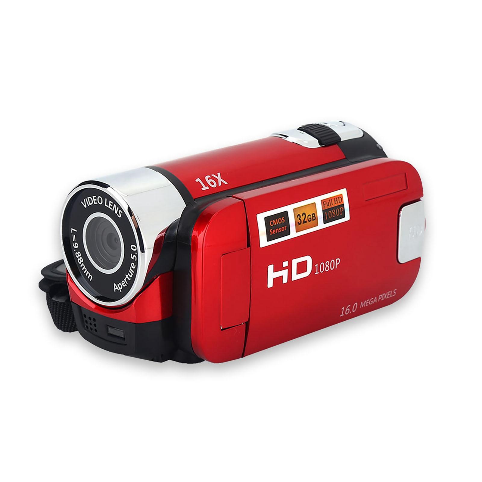 1080P-Camcorder-Digital-Video-Camera-TFT-LCD-Sceen-24MP-16x-DV-AV-Night-Vision-F thumbnail 35