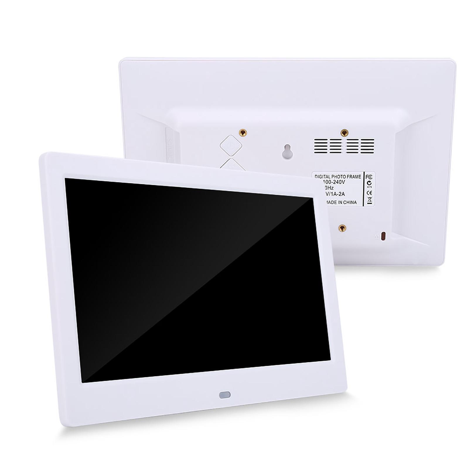 10 hd touchscreen digital bilderrahmen photo frame kalender mp3 film player bs ebay. Black Bedroom Furniture Sets. Home Design Ideas