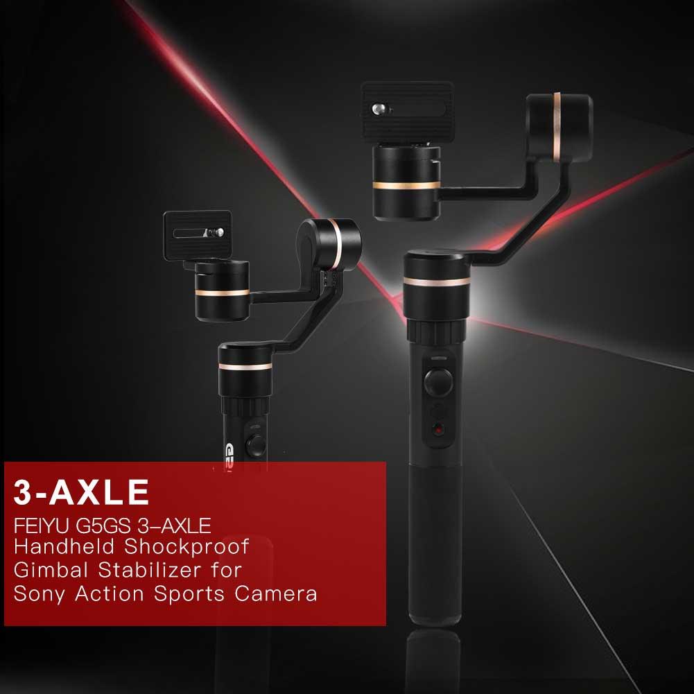 Feiyu-a1000-3-Axis-Gimbal-Dual-Handheld-Stabilizer-1-7kg-Payload-fr-DSLR-Camera thumbnail 17